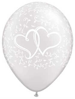 31503 Entined Hearts Pearl White