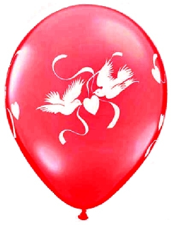 98084 Love Doves Red02